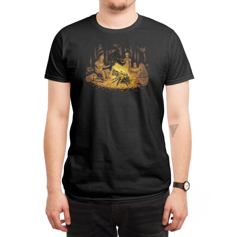 Campfire Men's T-Shirt by Threadless Artist Shop