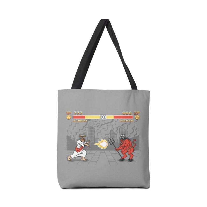 THE FINAL BATTLE Accessories Bag by Threadless Artist Shop