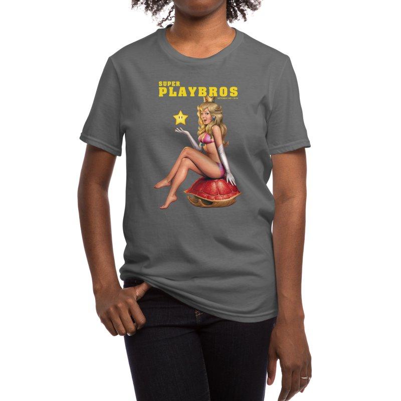 Super Playbros Women's T-Shirt by Threadless Artist Shop