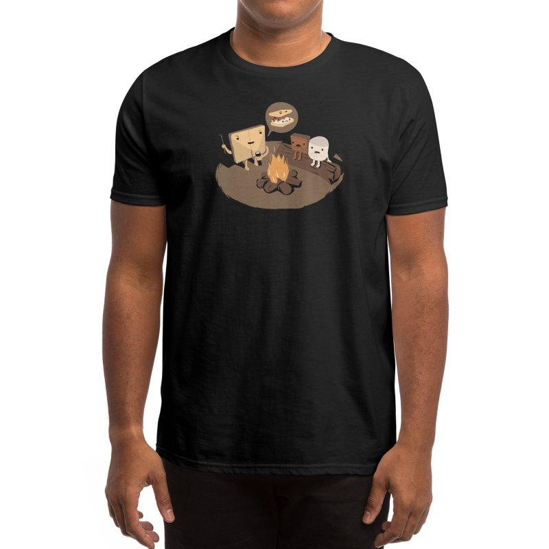 Tell Us S'more Men's T-Shirt by Threadless Artist Shop
