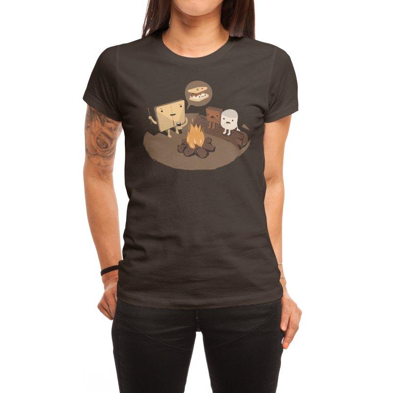 Tell Us S'more Women's T-Shirt by Threadless Artist Shop