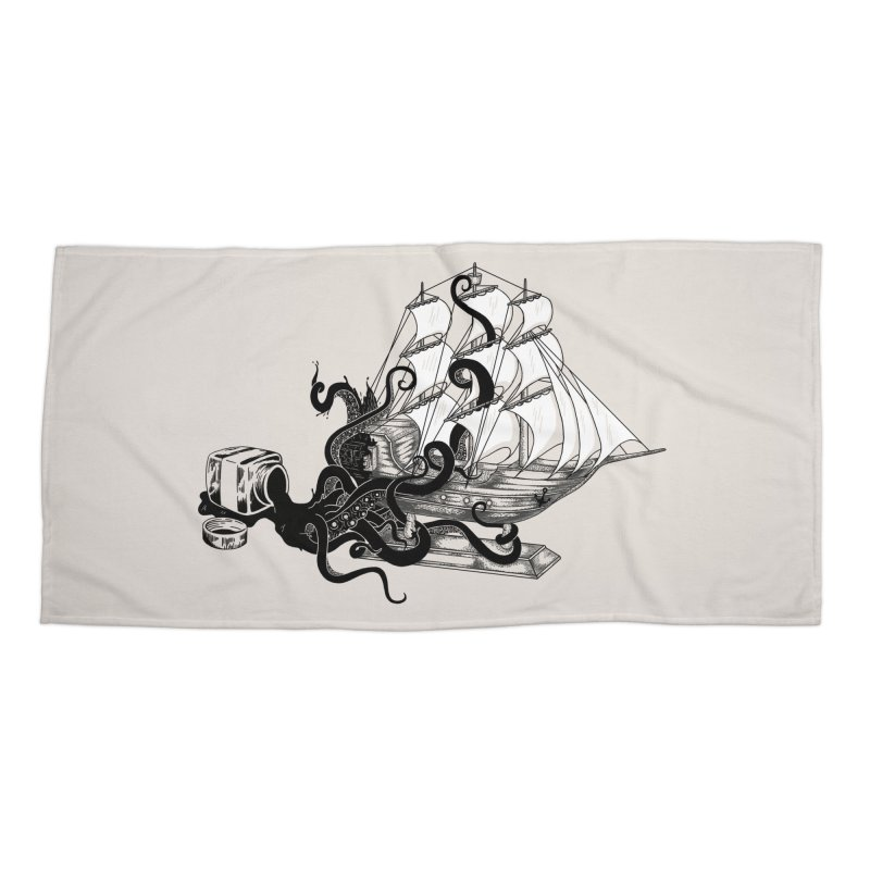 inksPIRATE Accessories Beach Towel by Threadless Artist Shop