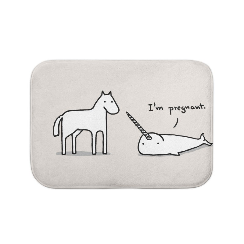 Birth of a Legend Home Bath Mat by Threadless Artist Shop