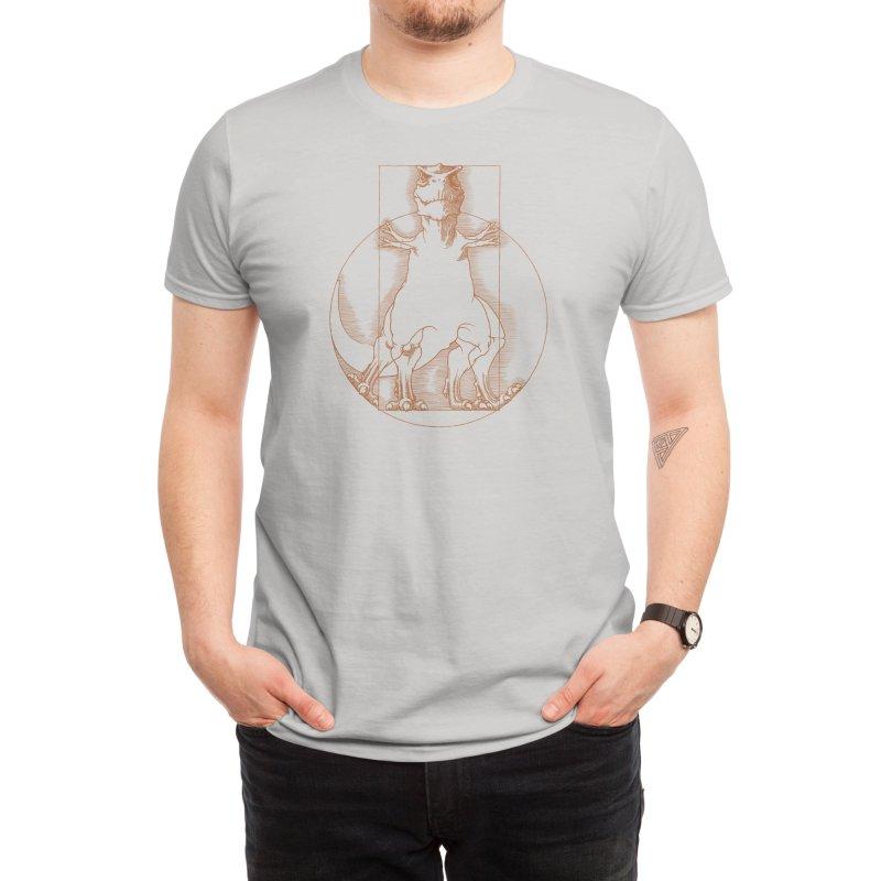 Vitruvian T-Rex Men's T-Shirt by Threadless Artist Shop