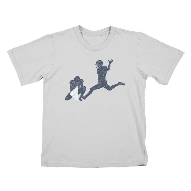 Field Goal Kids T-Shirt by Threadless Artist Shop