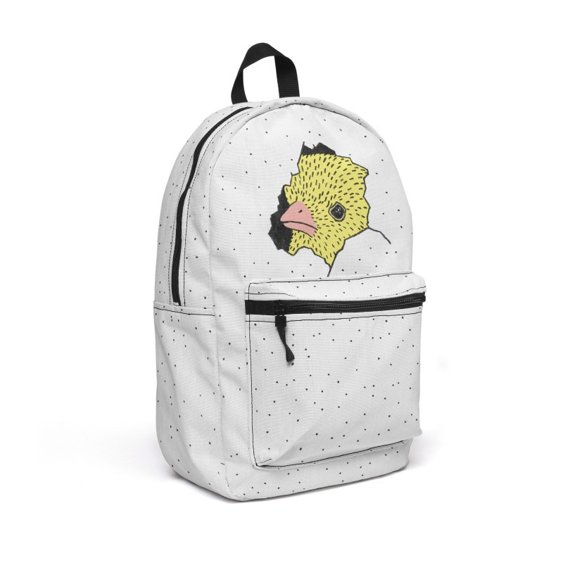 Heeere's Chicky Accessories Bag by Threadless Artist Shop