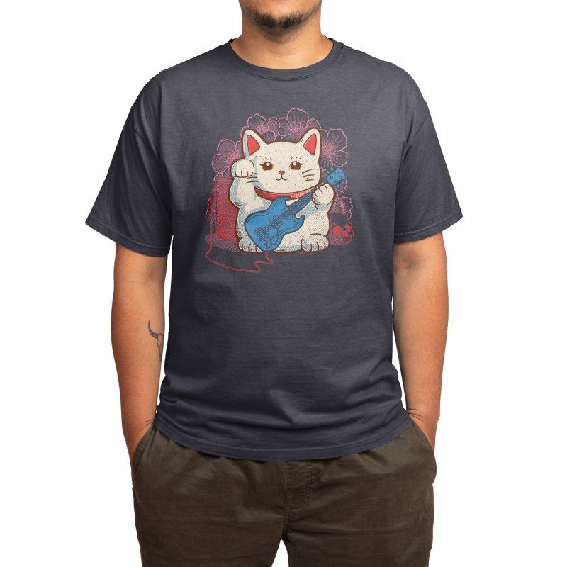 Lucky Rock Men's T-Shirt by Threadless Artist Shop