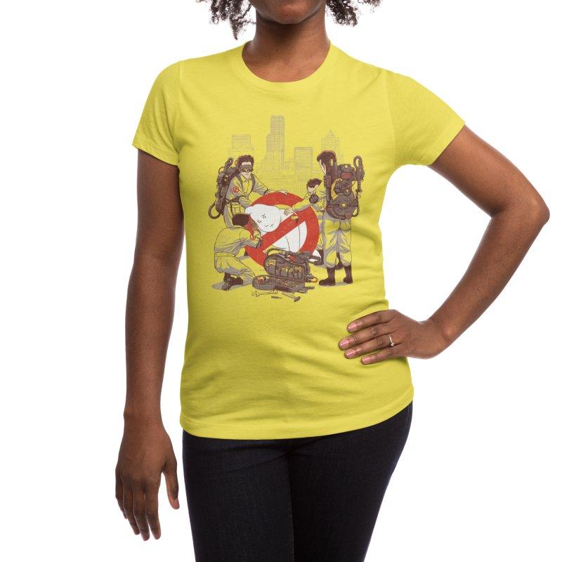 Ghostrescuers Women's T-Shirt by Threadless Artist Shop