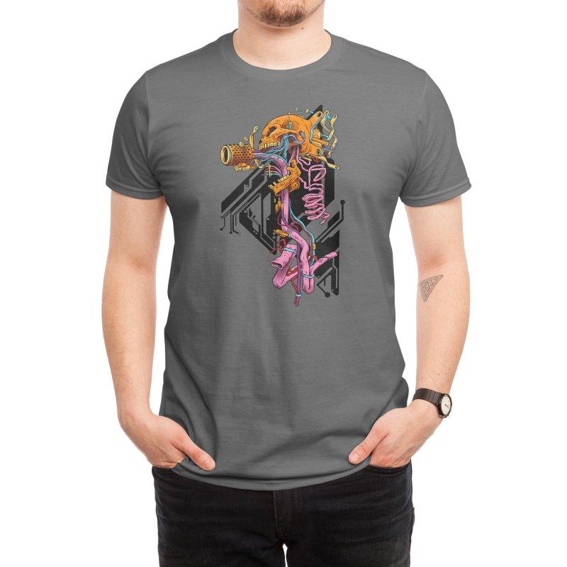 Exploded Skullborg Men's T-Shirt by Threadless Artist Shop