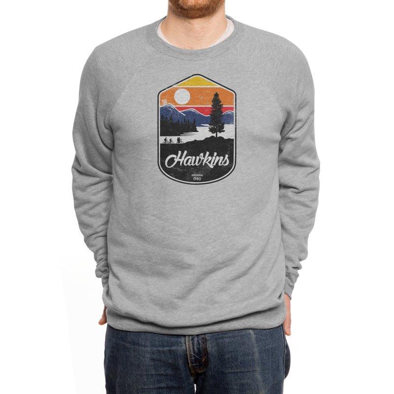 Hawkins Men's Sweatshirt by Threadless Artist Shop