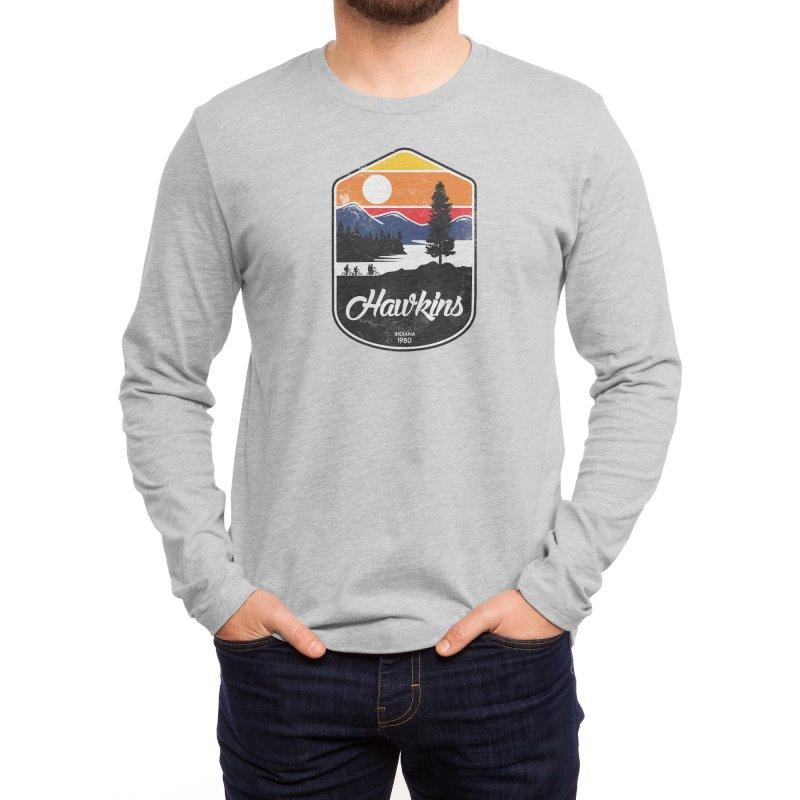 Hawkins Men's Longsleeve T-Shirt by Threadless Artist Shop