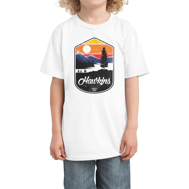 Hawkins Kids T-Shirt by Threadless Artist Shop