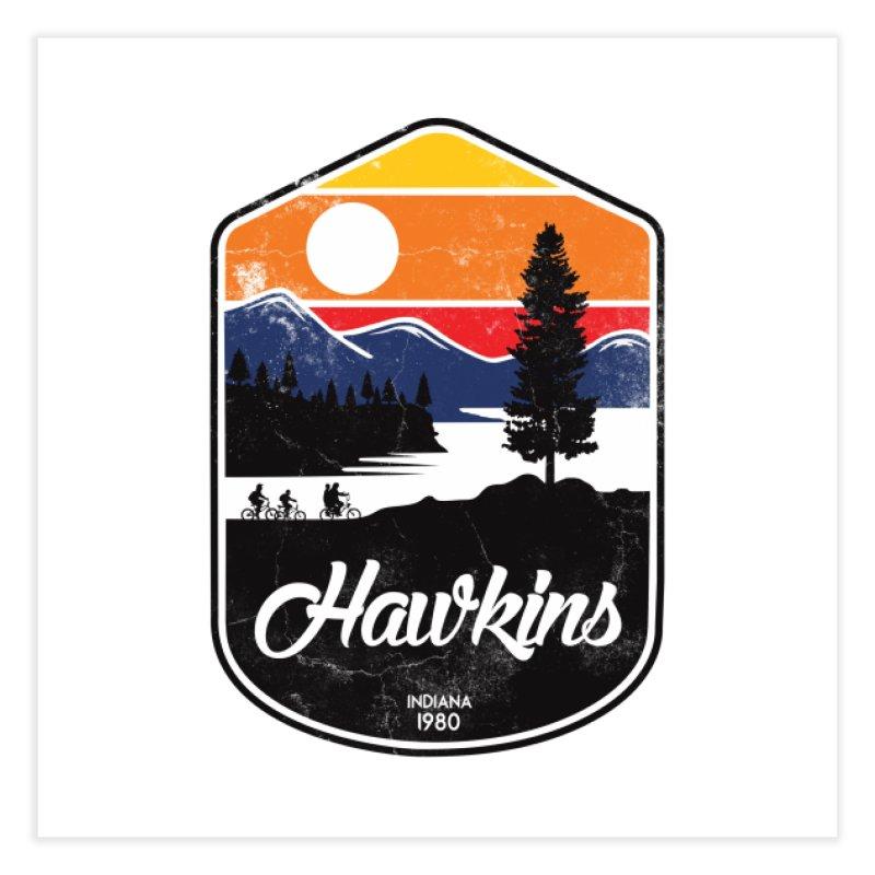 Hawkins Home Fine Art Print by Threadless Artist Shop