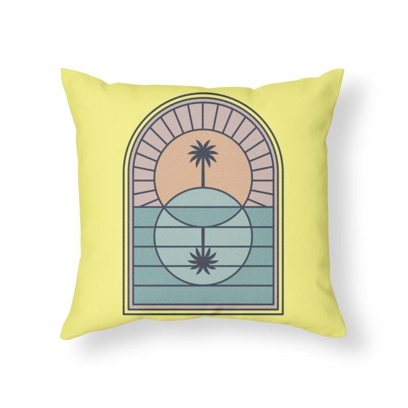 Venn Island Home Throw Pillow by Threadless Artist Shop