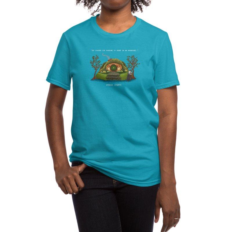 Share in an Adventure Women's T-Shirt by Threadless Artist Shop