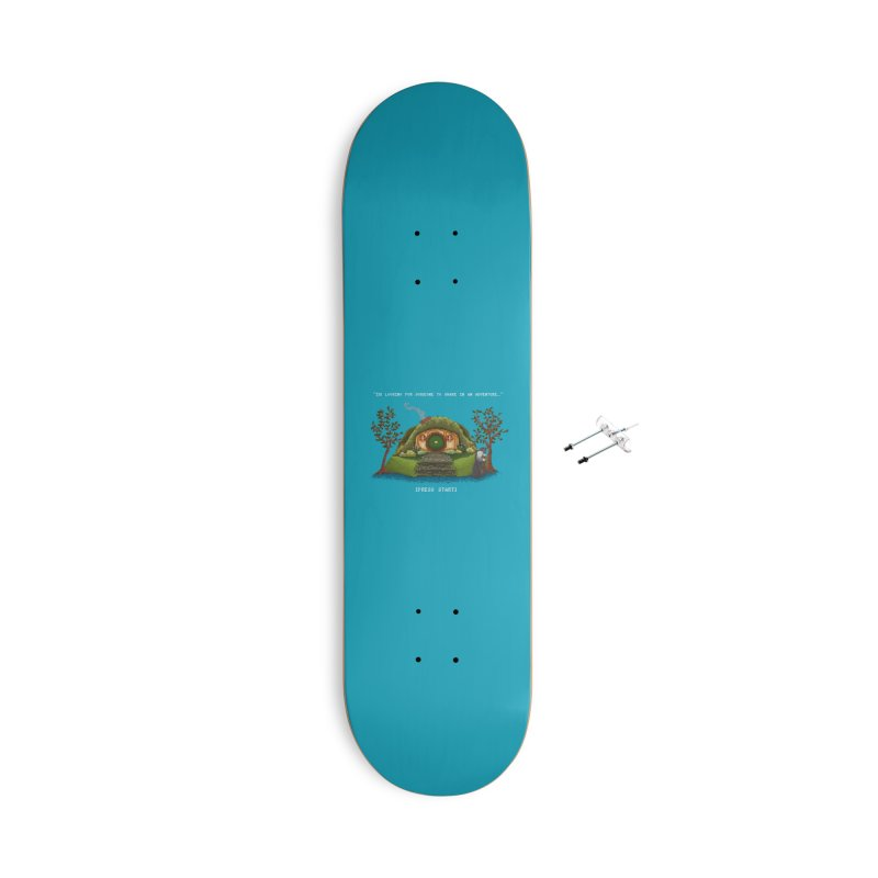 Share in an Adventure Accessories Skateboard by Threadless Artist Shop