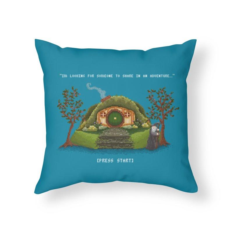Share in an Adventure Home Throw Pillow by Threadless Artist Shop
