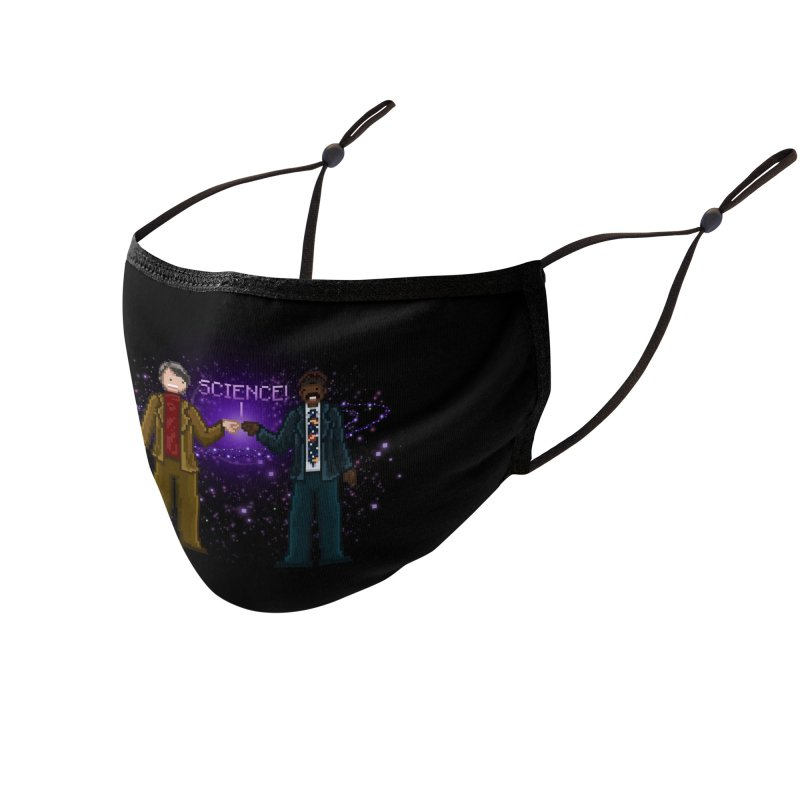 Ode to the Cosmos! Accessories Face Mask by Threadless Artist Shop