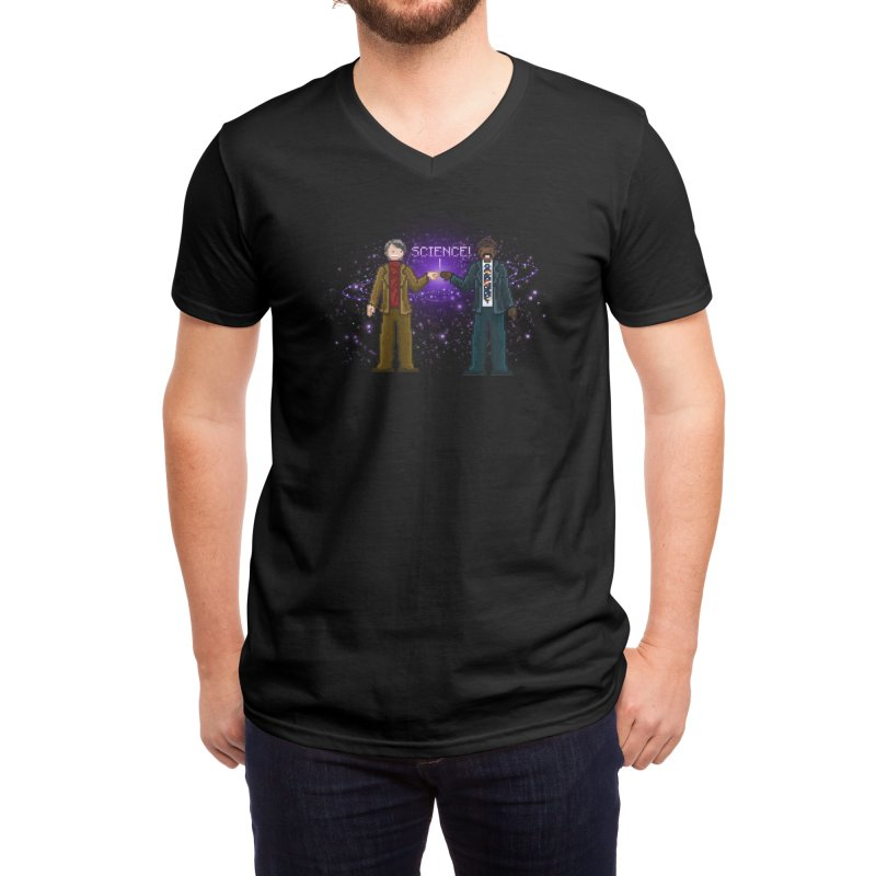 Ode to the Cosmos! Men's V-Neck by Threadless Artist Shop
