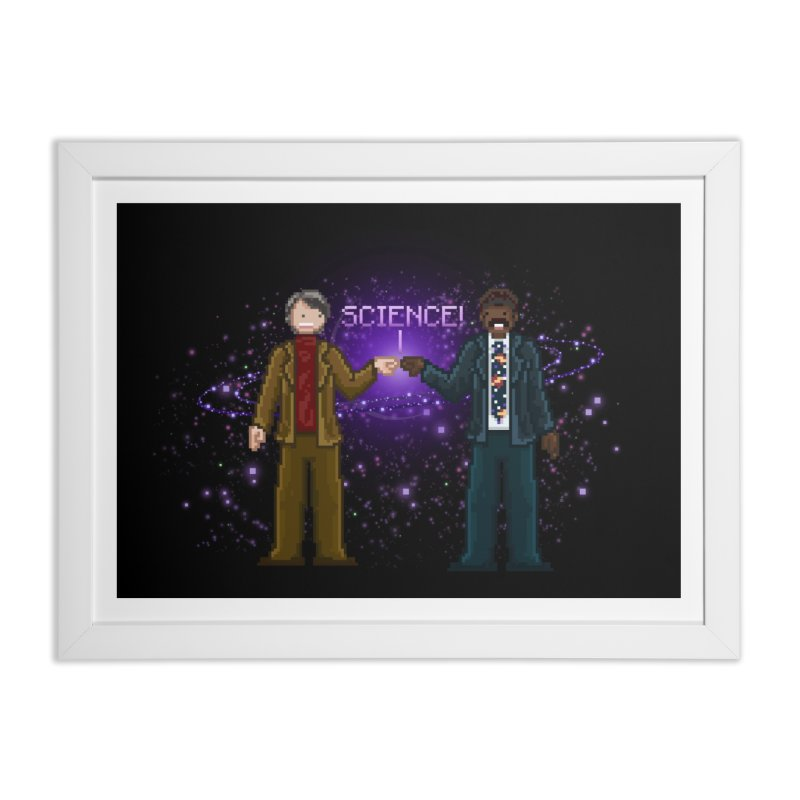 Ode to the Cosmos! Home Framed Fine Art Print by Threadless Artist Shop