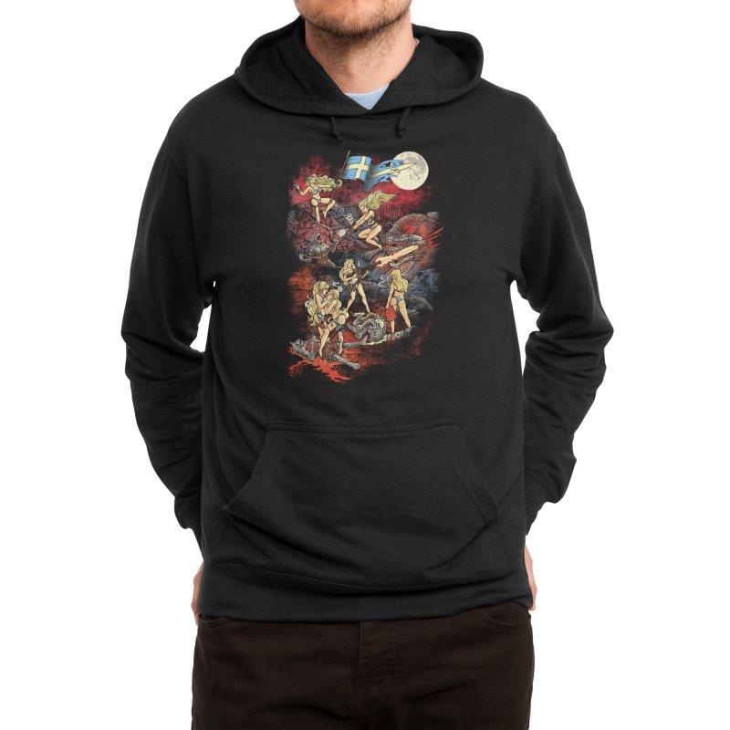 SWEDISH BIKINI WEREWOLF DESTRUCTION UNIT Men's Pullover Hoody by Threadless Artist Shop