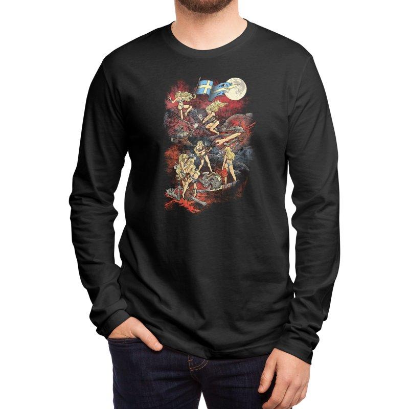 SWEDISH BIKINI WEREWOLF DESTRUCTION UNIT Men's Longsleeve T-Shirt by Threadless Artist Shop