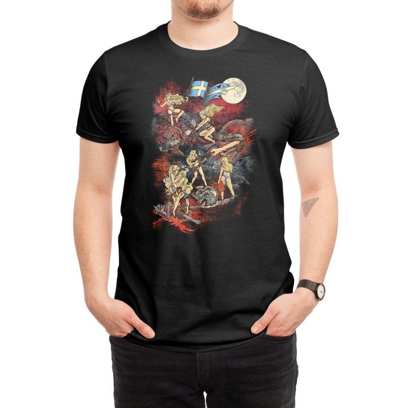 SWEDISH BIKINI WEREWOLF DESTRUCTION UNIT Men's T-Shirt by Threadless Artist Shop