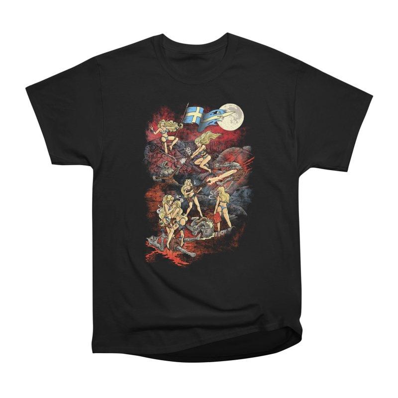 SWEDISH BIKINI WEREWOLF DESTRUCTION UNIT Women's T-Shirt by Threadless Artist Shop