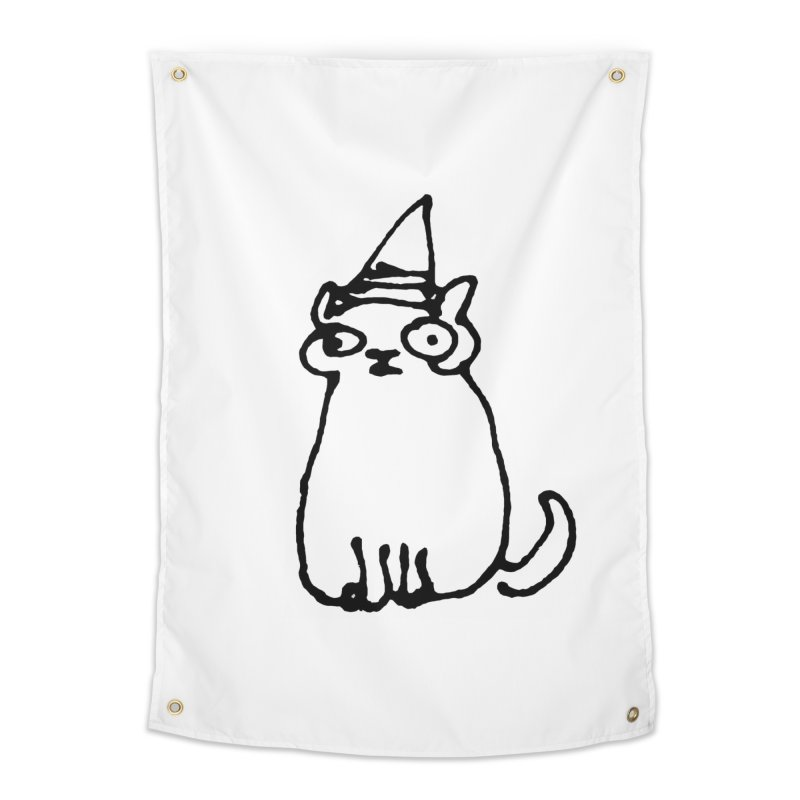 Wizard Cat Home Tapestry by Threadless Artist Shop