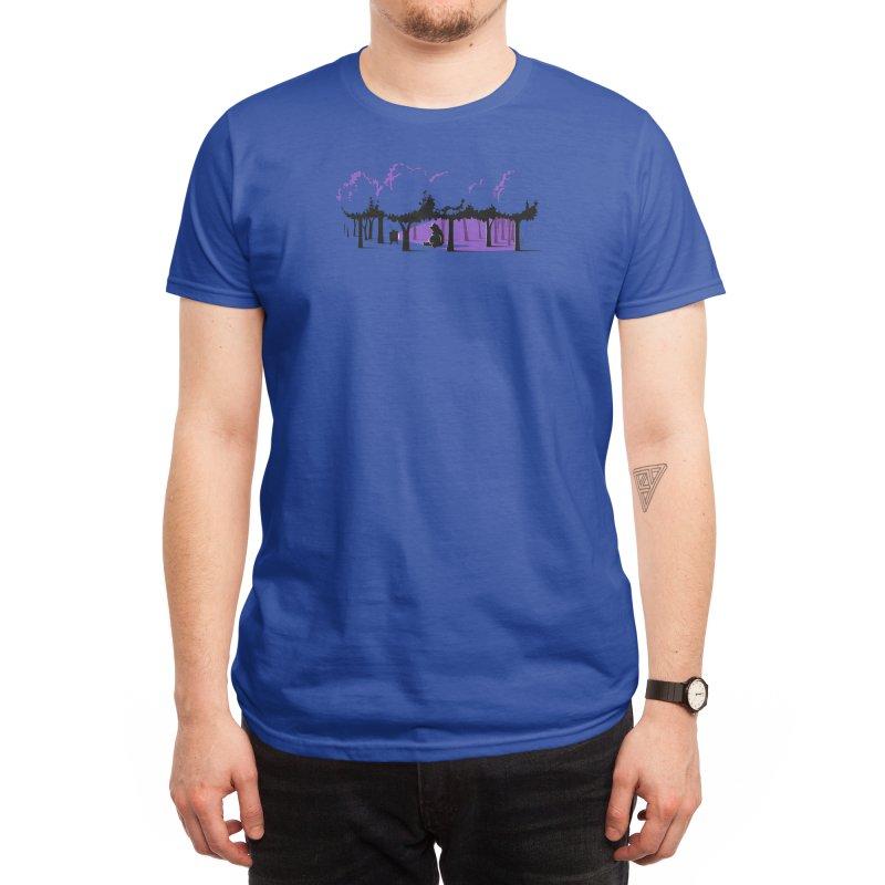 Technology Ruins Nature Men's T-Shirt by Threadless Artist Shop