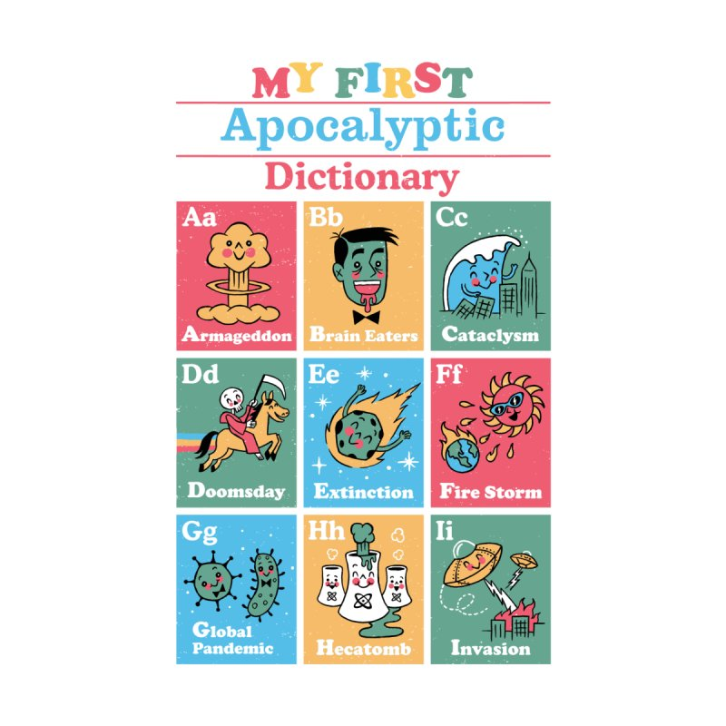 My First Apocalyptic Dictionary Men's T-Shirt by Threadless Artist Shop