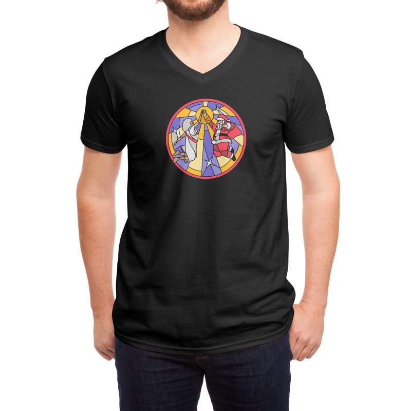 Miracle Bros Men's V-Neck by Threadless Artist Shop