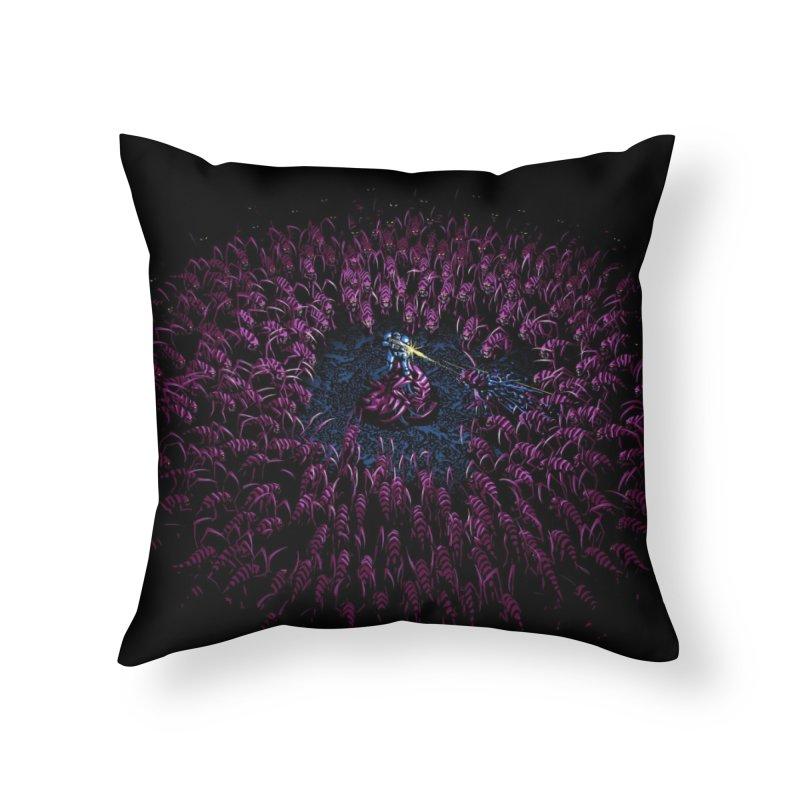 The Rush Home Throw Pillow by Threadless Artist Shop