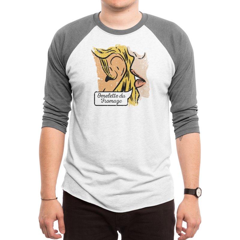 Omelette du Fromage Men's Longsleeve T-Shirt by Threadless Artist Shop