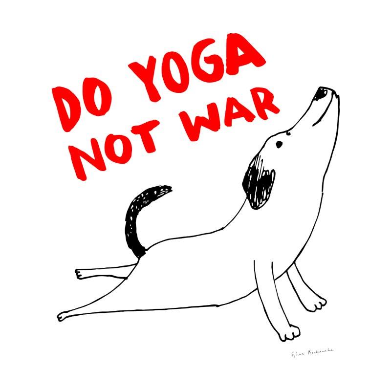 Do Yoga Not War Dog Men's T-Shirt by Threadless Artist Shop