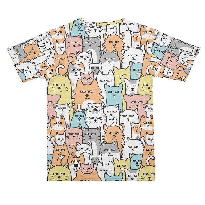 Suspicious Meow Men's Cut & Sew by Threadless Artist Shop