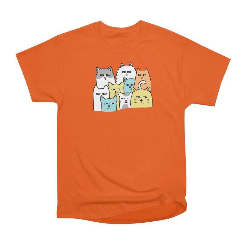 Suspicious Meow Men's T-Shirt by Threadless Artist Shop