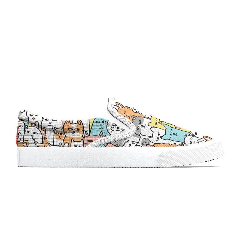 Suspicious Meow Men's Shoes by Threadless Artist Shop