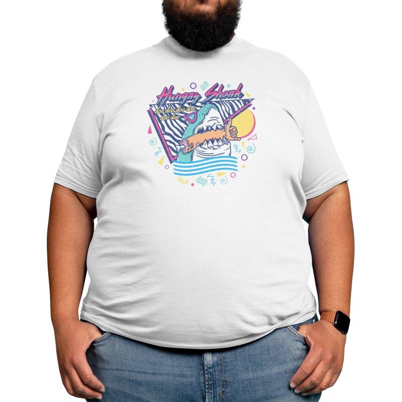 HUNGRY SHARK Men's T-Shirt by Threadless Artist Shop