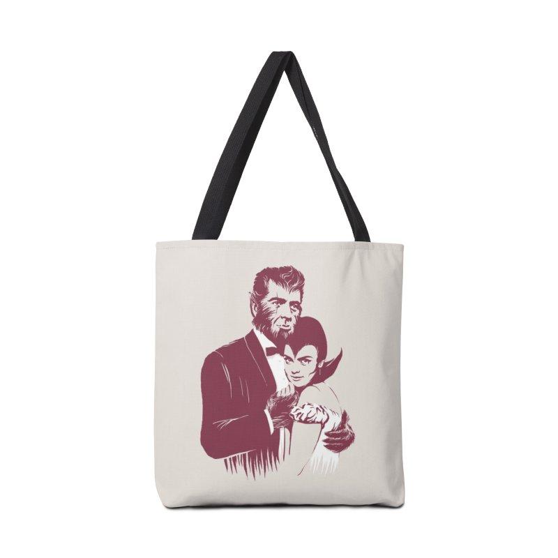 It's Always Midnight Somewhere Accessories Bag by Threadless Artist Shop