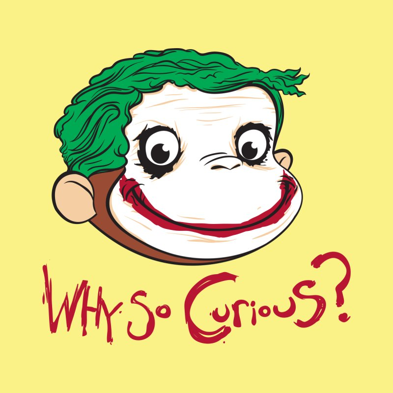 Why So Curious? Men's T-Shirt by Threadless Artist Shop