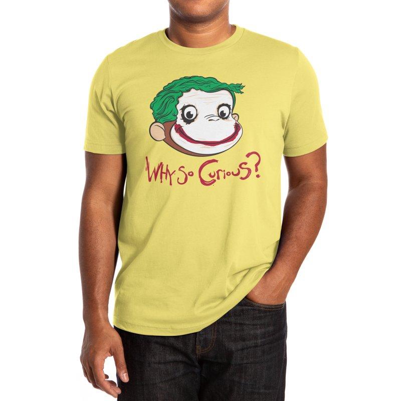 Why So Curious? Men's T-Shirt by Threadless Artist Shop