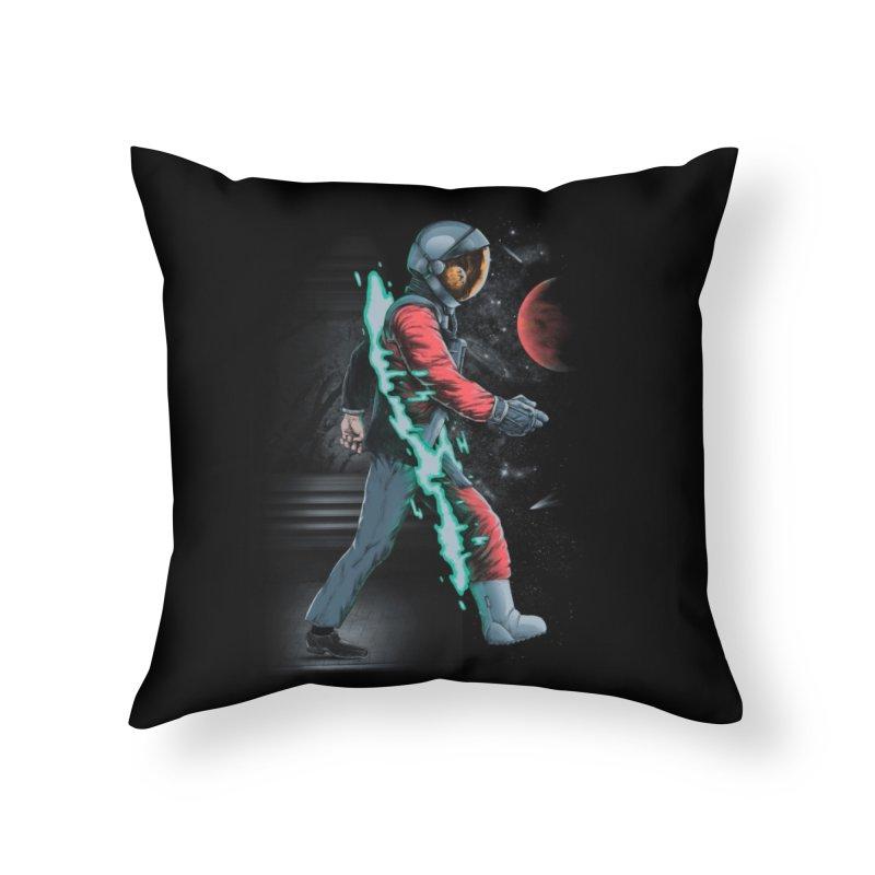 Forward Home Throw Pillow by Threadless Artist Shop