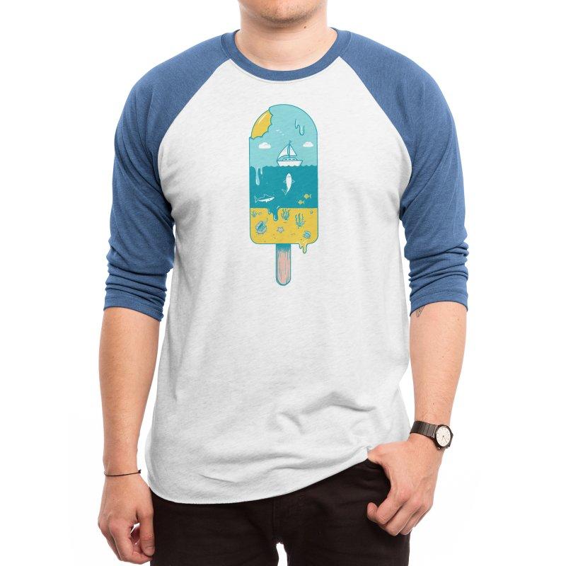 Melted Landscape Men's Longsleeve T-Shirt by Threadless Artist Shop