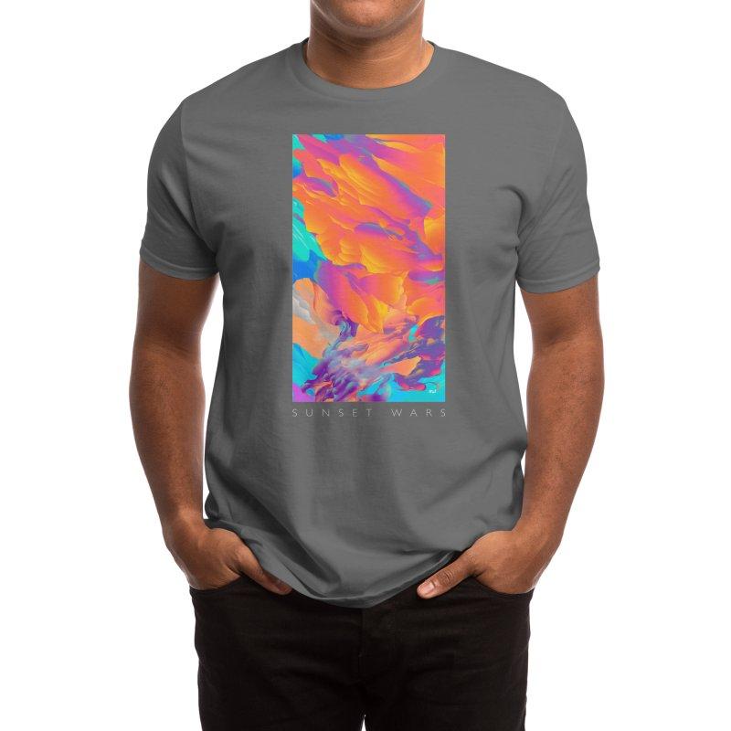 Sunset Wars Men's T-Shirt by Threadless Artist Shop