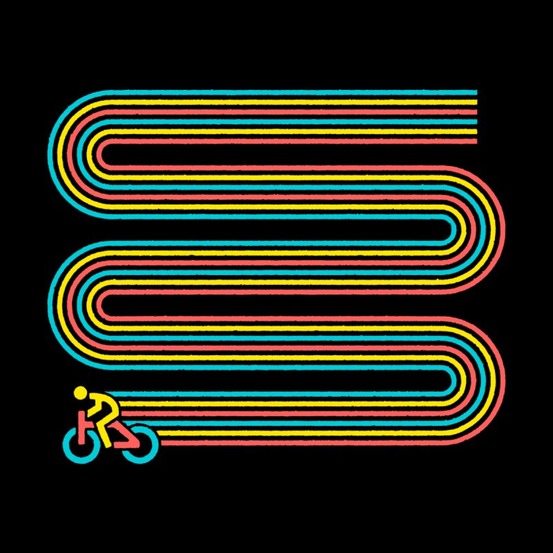 Racing Stripes Men's T-Shirt by Threadless Artist Shop