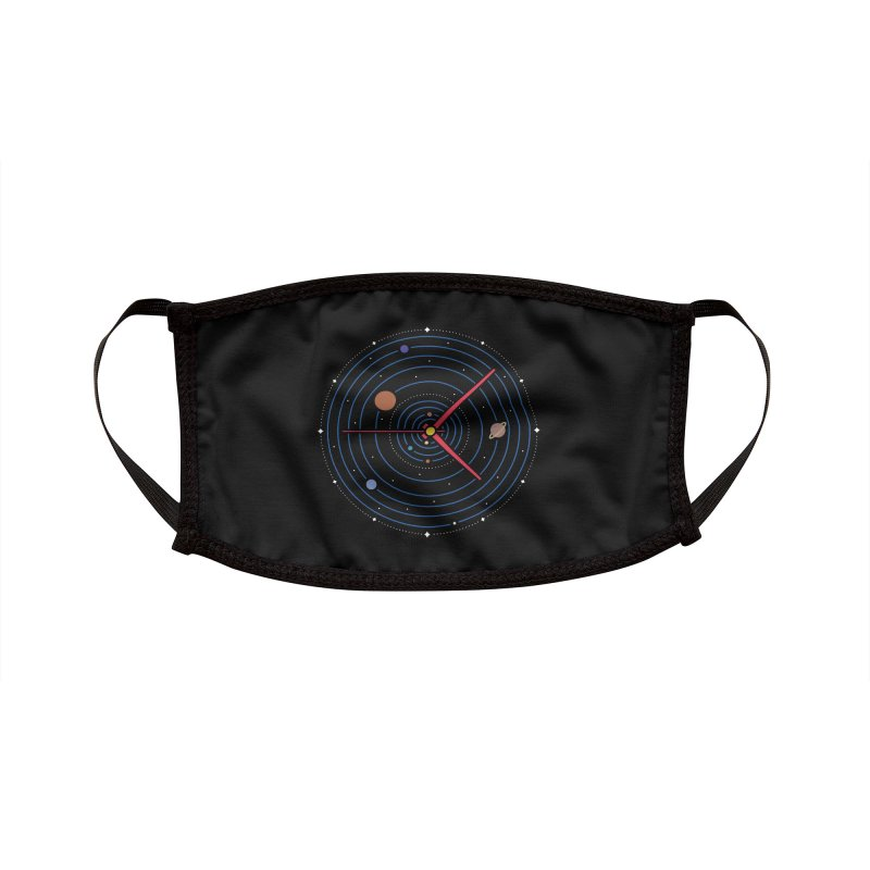 Spacetime* Accessories Face Mask by Threadless Artist Shop