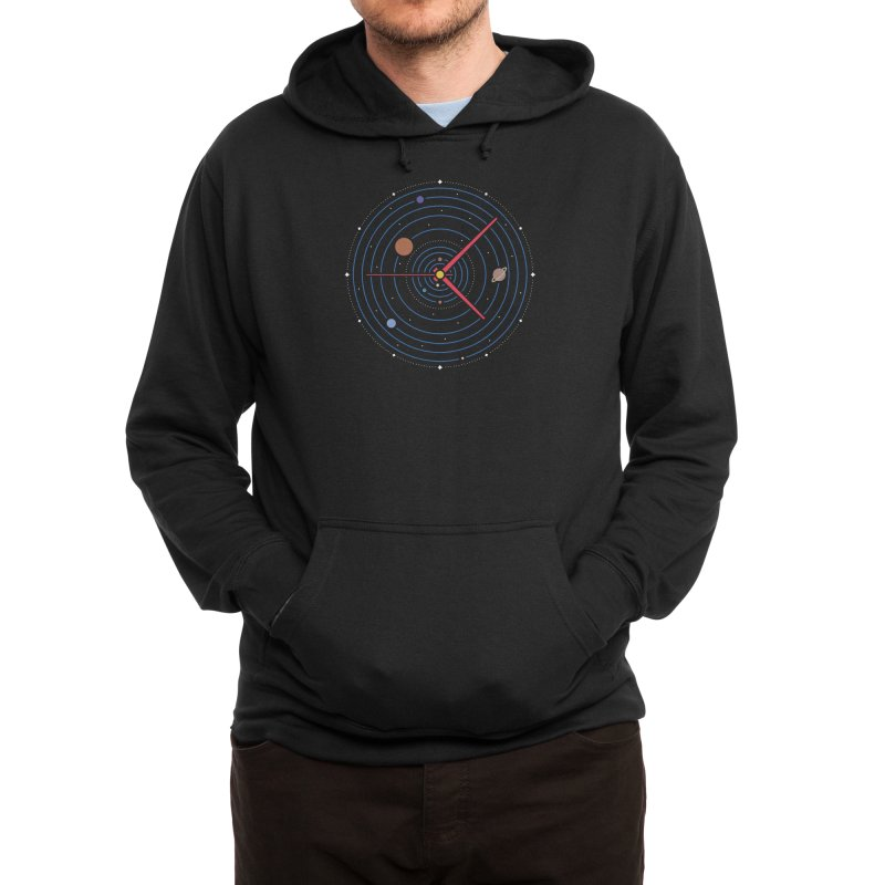 Spacetime* Men's Pullover Hoody by Threadless Artist Shop