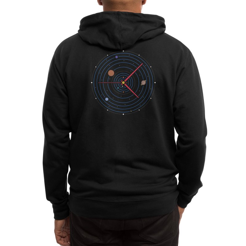 Spacetime* Men's Zip-Up Hoody by Threadless Artist Shop
