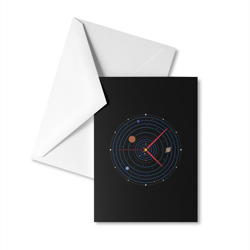 Spacetime* Accessories Greeting Card by Threadless Artist Shop